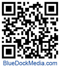 QR Code for Blue Dock Media